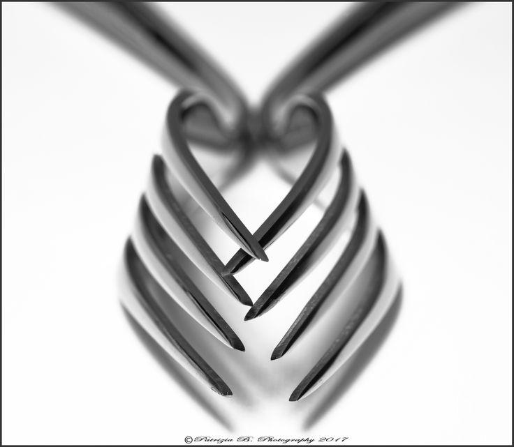 Abstraktes Herz …