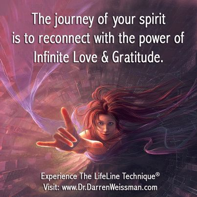 The journey of your spirit is to reconnect with the power ...
