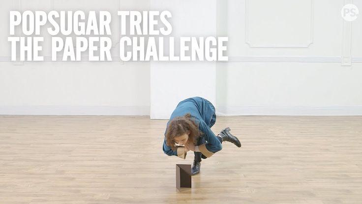 PopSugar Tries: The Paper Challenge - https://www.burnbodyweight.com/popsugar-tries-the-paper-challenge/