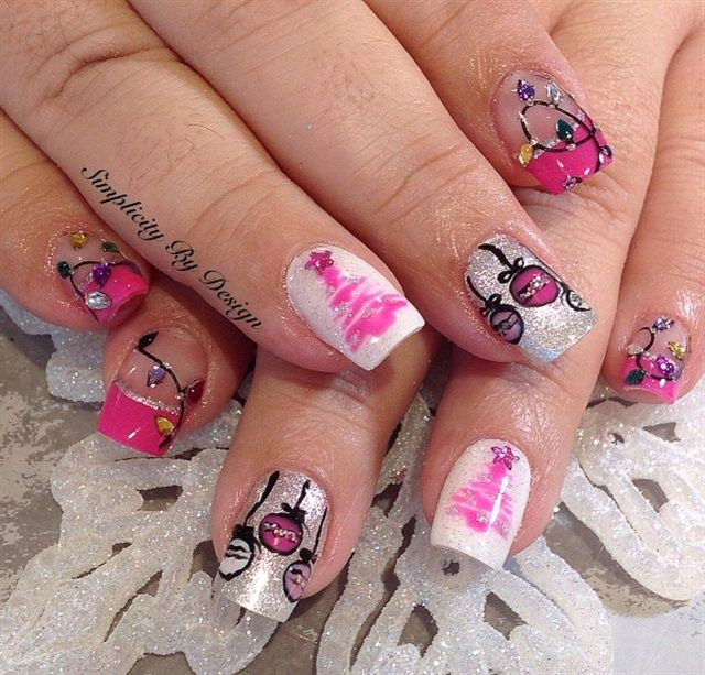 Xmas Nail Art: 1000+ Images About Christmas Nail Art On Pinterest