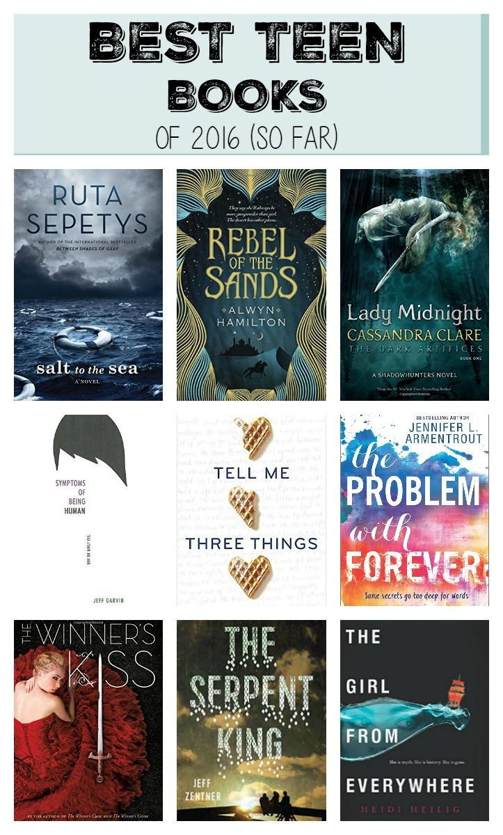27 and counting of the year's best teen books based on critical reviews, NYT Bestseller lists, Amazon and Goodreads reviews, and librarian and educator recommendations.
