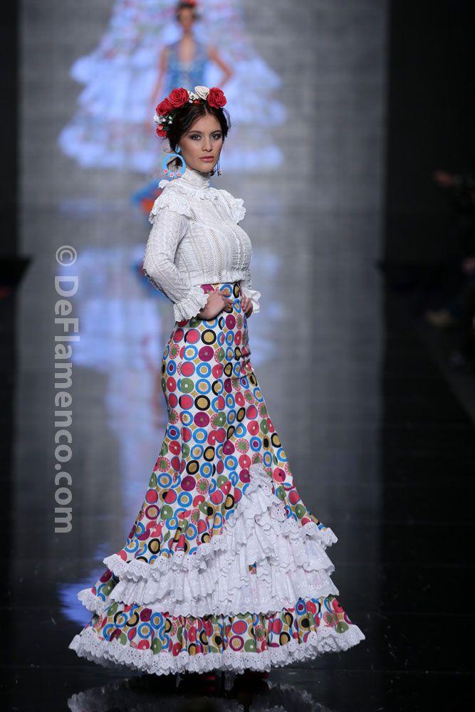 Fotografías Moda Flamenca - Simof 2014 - Atelier Rima 'Lluvia de Flores' Simof 2014 - Foto 04