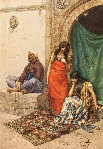 """""""The Slave Market"""" by Giulio Rosati"""