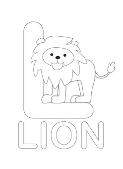 free printable alphabet coloring pages from mrprintablescom - Alphabet Coloring Pages
