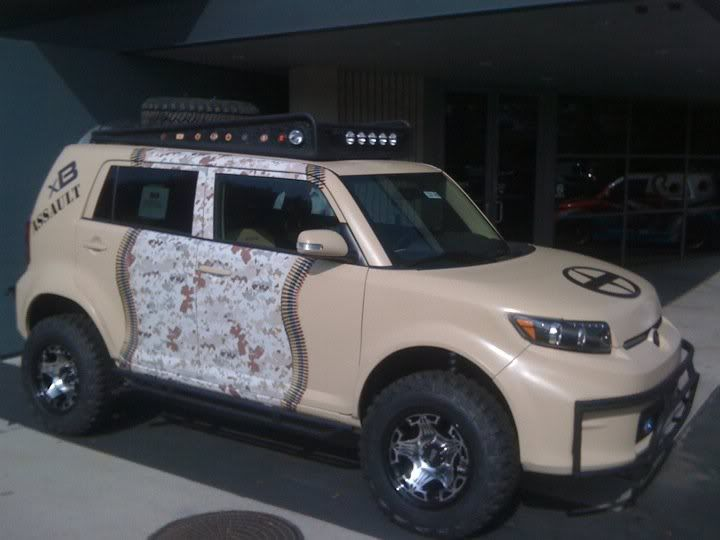 Lifted Scion xB This is what i want my xB to look like but with a different paint job!