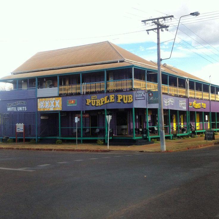 Purple Pub Normanton Qld