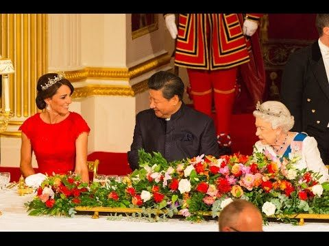 Kate Middleton Stuns As She Welcomes Chinese President Xi Jinping