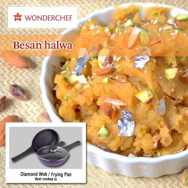 Dessertspecial Traditional Besan Halwa Recipe By Chef Sanjeev Kapoor Http