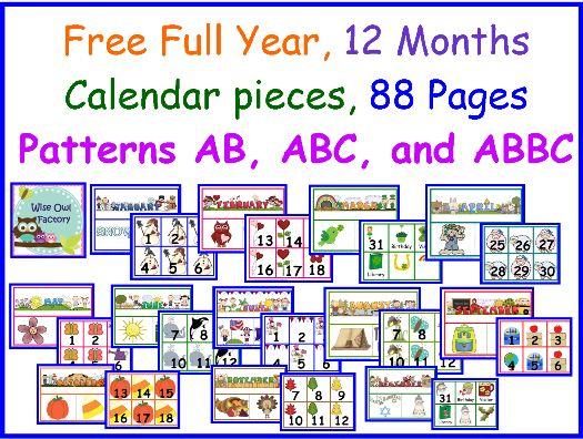 Best 25+ Preschool calendar ideas on Pinterest Seasons calendar - preschool calendar template