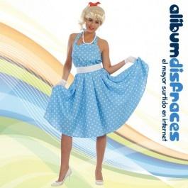 Disfraz de Mujer años 60 Adulto - €16.50