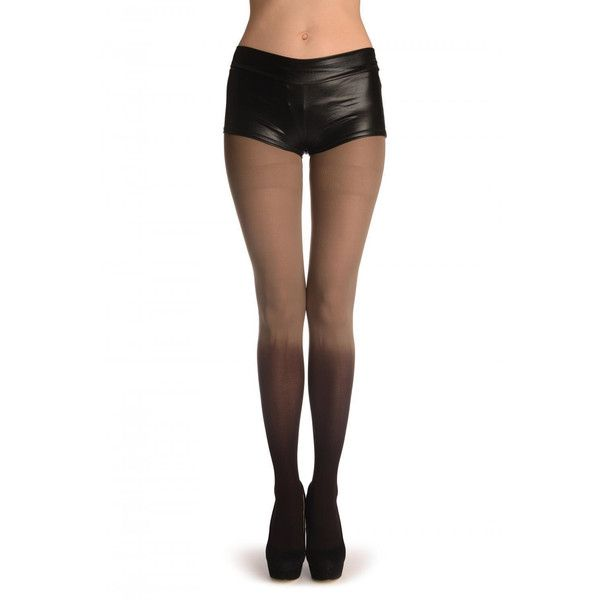 70 Denier Opaque Ombr Tights|Costumes|Goth|Punk|Party Tights ($23) ❤ liked on Polyvore featuring intimates, hosiery, tights, brown, women's clothing, ombre tights, brown stockings, opaque pantyhose, brown opaque tights and opaque stockings