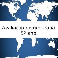 Avaliação de geografia dissertativa, sobre a vegetação brasileira, para alunos do quinto ano. Disponível para download em Word, PDF e gabarito.