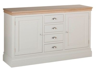 Lundy Pine 1.5 4 Drawer Sideboard