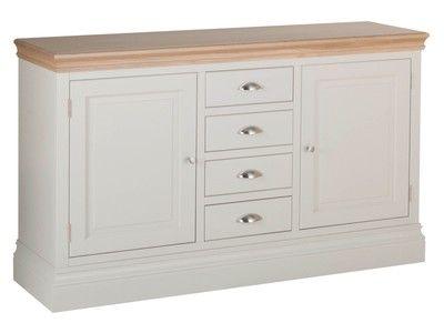 Lundy Pine 1.5 4 Drawer Sideboard