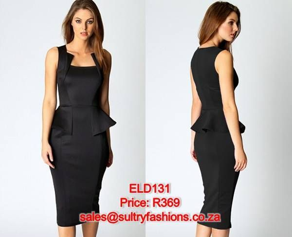 ELD131 - PRICE: R369  AVAILABLE SIZES: S/M (Size 8-10 / 32-34) M/L (Size 10-12/34 -36) To order, email: sales@sultryfashions.co.za