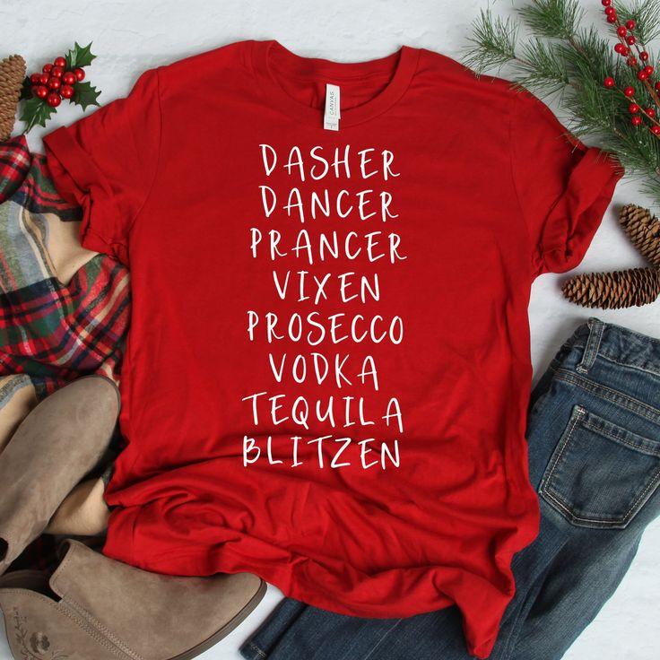 Santa's Reindeer Unisex T-Shirt