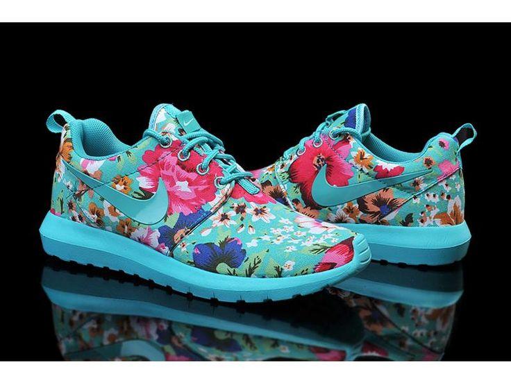 nike womens roshe london olympics print running shoes