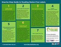 Beyond Celiac Reading Labels Guide