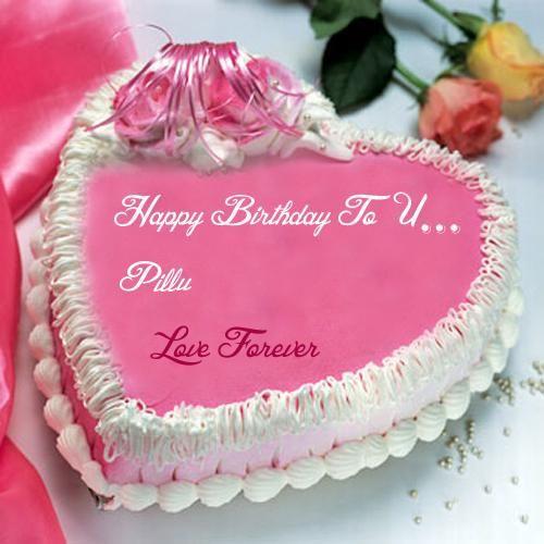 Birthday Wishes Love Forever Cake Name Write Photo Edit