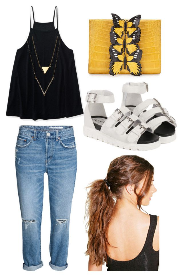 """Outfit #4 Casual"" by anaza1410 on Polyvore featuring moda, Aéropostale, Nancy Gonzalez y Boohoo"