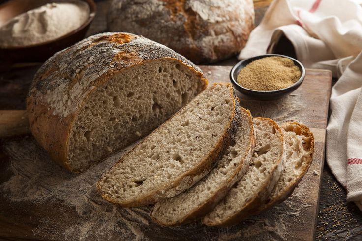 Leckeres Low Carb Brot ohne Kohlenhydrate für ein gesundes Frühstück. Entdecken sie dieses und viele weitere Low Carb Rezepte.