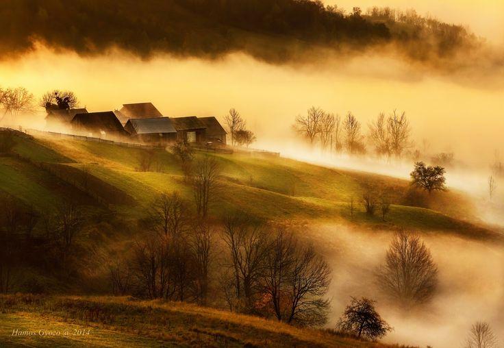 Plesa lost in fog by Hamos Gyozo on 500px