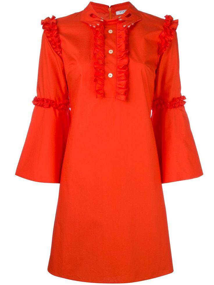 Vivetta платье с оборками