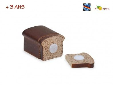 Dinette en bois à couper, grâce à des scratchs. https://www.ecolojeux.com/dinette-fruits-legumes-bois-marchande/500-dinette-bois-a-couper-pain.html Les enfants adorent!