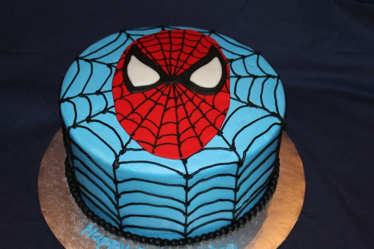 Spiderman cake ideas - photo#4