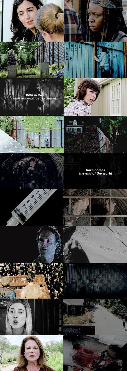 """The Walking Dead Season 6 Episode 5 """"Now"""""""