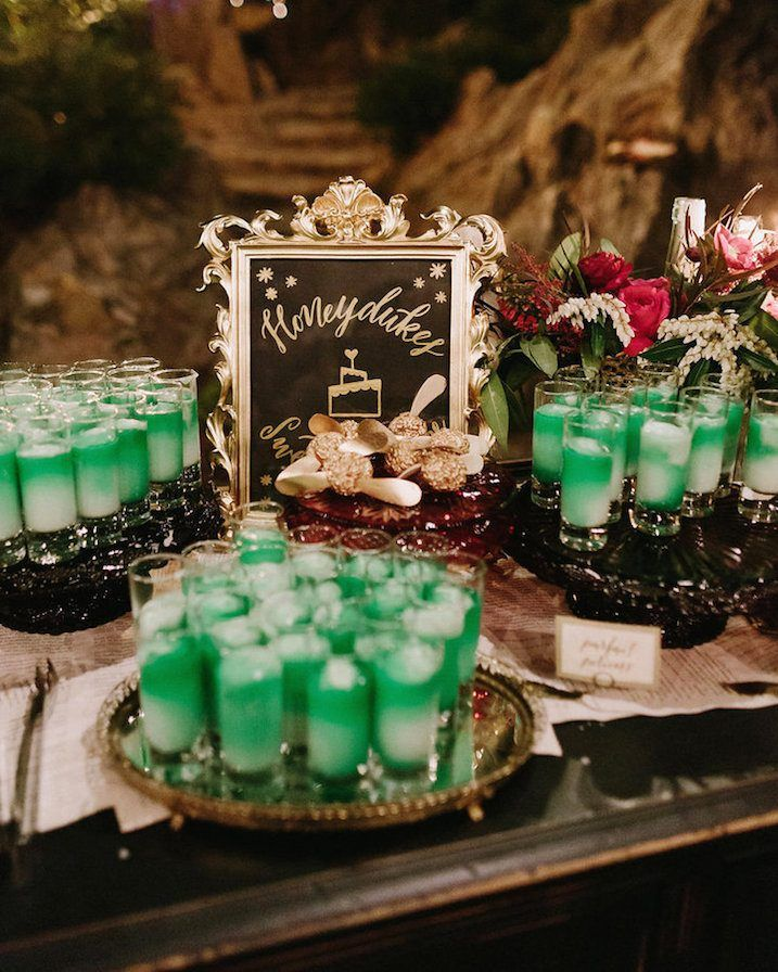 Harry-Potter-Shots | This Magical 'Harry Potter'-Themed Wedding Will Make You Say 'Accio Husband' So Fast