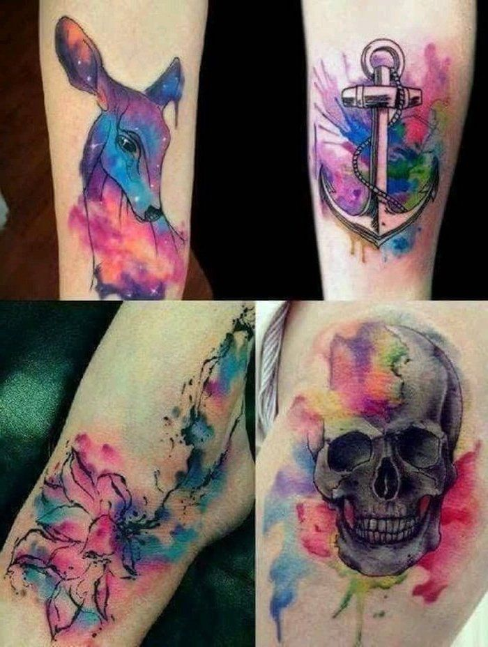 Watercolor Splash Tattoo By Jayfreestyle Deviantart Com On