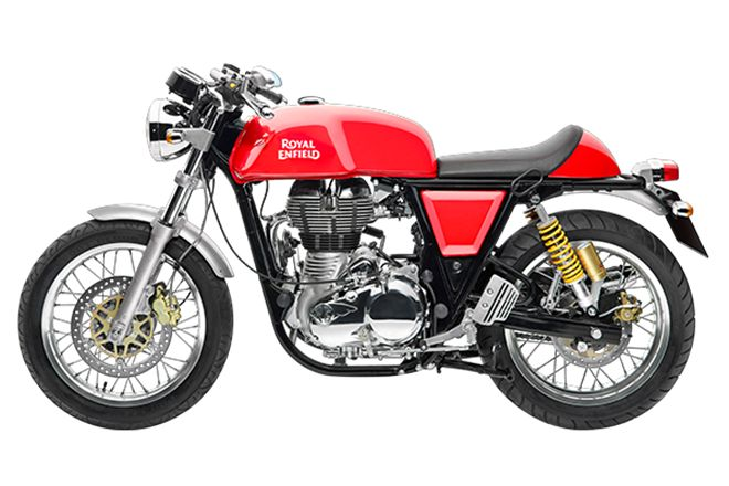 New Royal Enfield Continental GT with 750 cc engine spotted again, to compete with Harley-Davidson Street 750 in India - The Financial Express