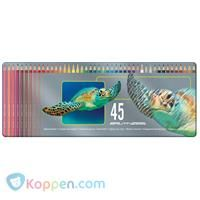 Kleurpotloden Bruynzeel schildpad: 45 stuks -  Koppen.com