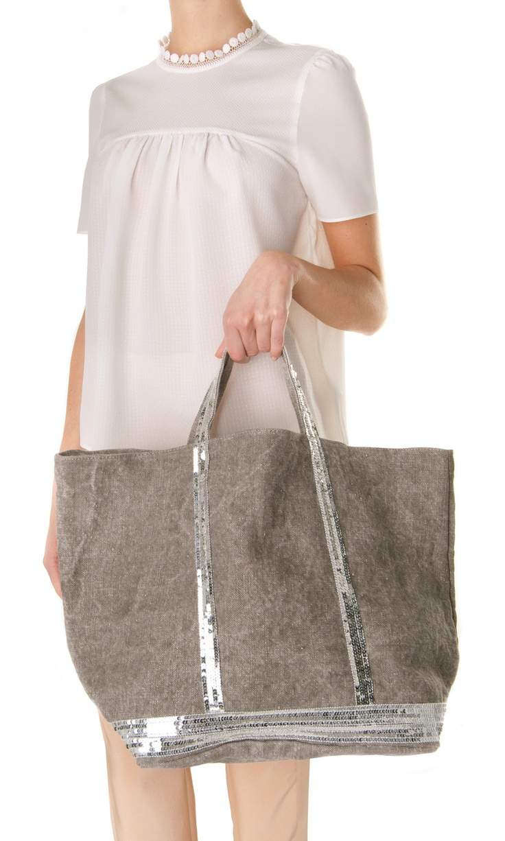 Vanessa Bruno Cabas Grand Sequin Tote - #ss13 #bag