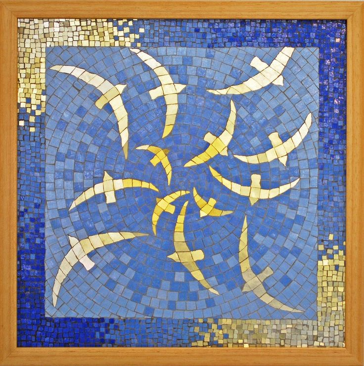 smalti mosaic artists | Four Elements Mosaic Art Shop by Kate Rattray
