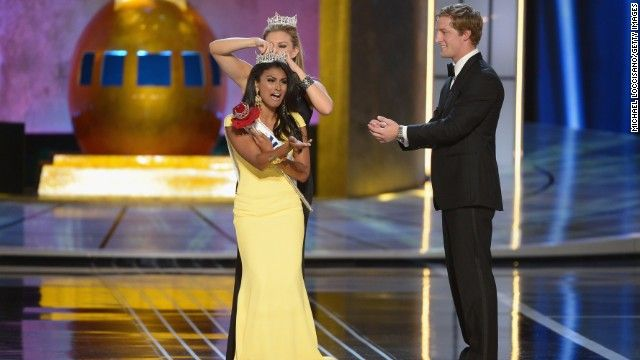 "Miss America 2013 was crowned, however this winner was not the ""norm."" Nina Davuluri became the first Indian American Miss America. This shows the acceptance of people in America and how that has been changing over the past couple of years. --Brett"