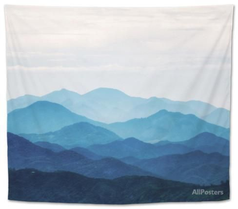 Blue Mountains Tapestry by PhotoINC at AllPosters.com