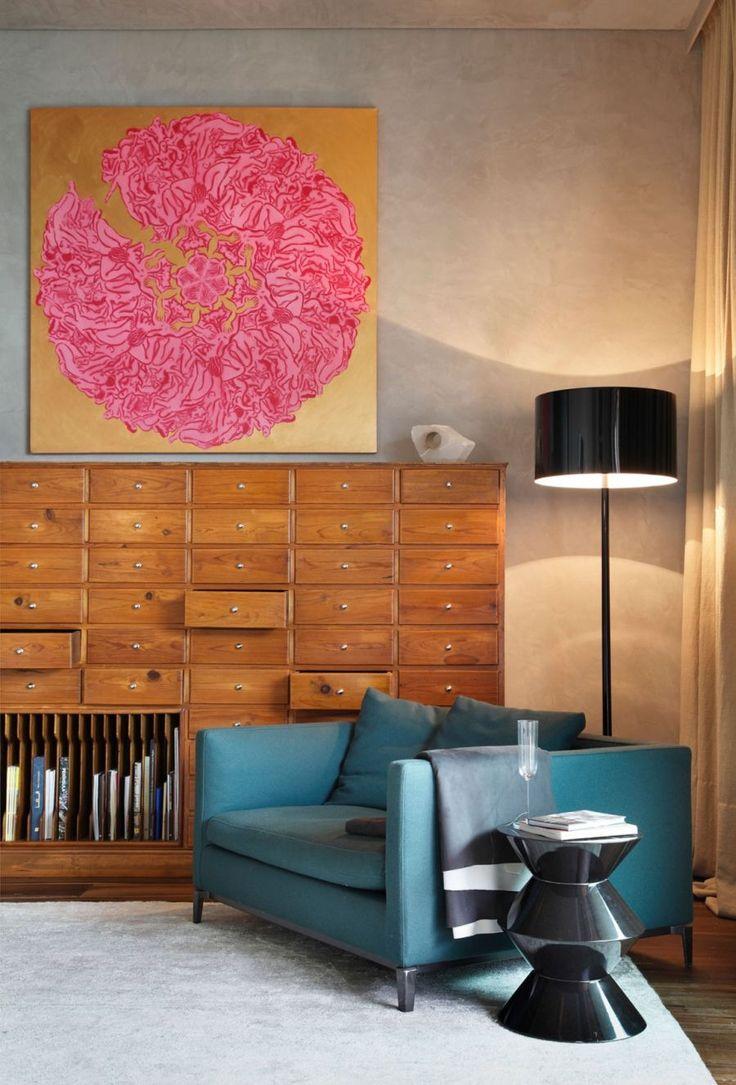Art Filled Home | via Decoist