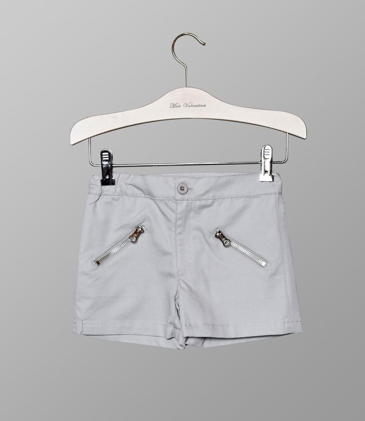 Shorts Greta grises de la colección Primavera Verano 2012 de Miss Valentina