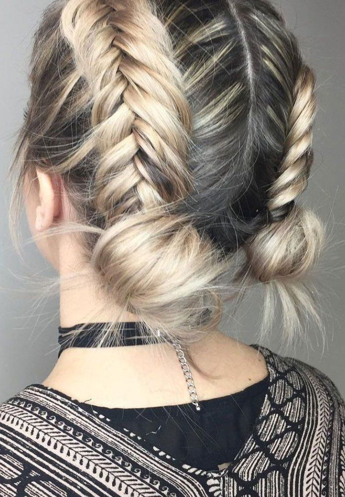 Warning These 20 Inspo Pics Will Make You Want To Chop Your Curly Hair 706002 Natural Hairstyles Na In 2020 Hair Styles Braided Hairstyles Braided Bun Hairstyles