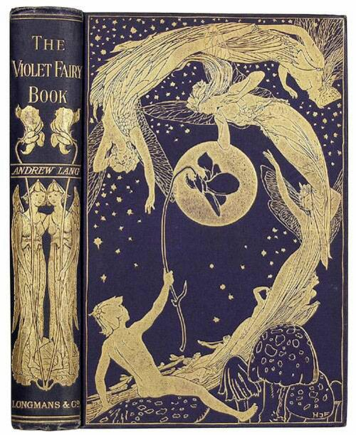 Andrew Lang's Fairy Books by MyOwlBarn, via Flickr