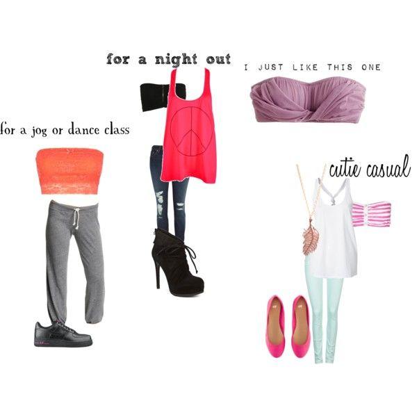 bandeau outfits