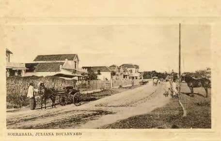 Juliana Boelevard atau Kombes Pol M. Duryat, atau sebelumnya namanya Jalan Cendana th 1900
