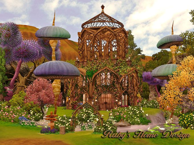 Ruby S Home Design Lu Ratio Of House Sims3 Enchanted
