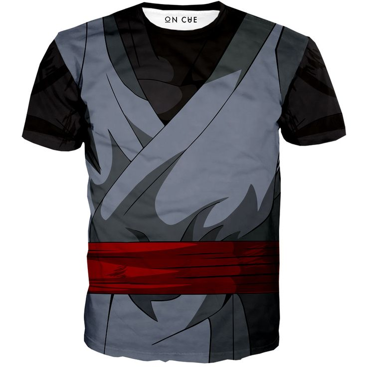 Black Goku Outfit T-Shirt