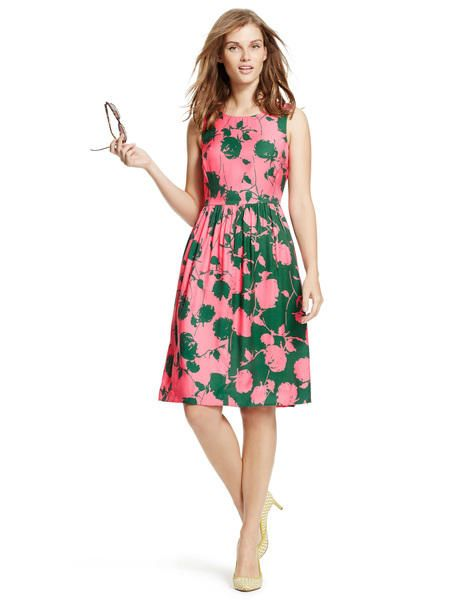 Sylvia Dress WH787 Day Dresses at Boden