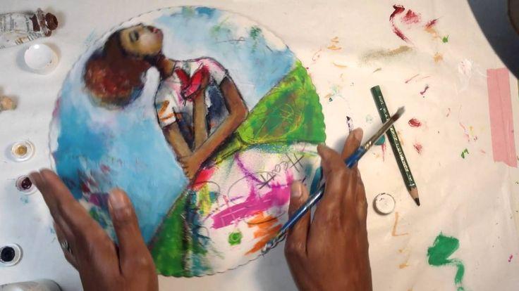Gratitude- Mixed Media Painting