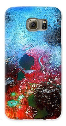Printed with Fine Art spray painting image World Of Reefs by Nandor Molnar (When you visit the Shop, change the orientation, background color and image size as you wish)