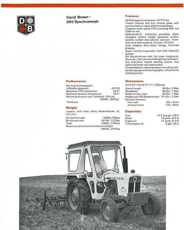 22 best david brown ag equipment images on pinterest